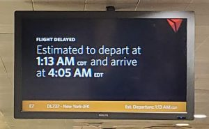 Delay to JFK